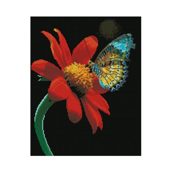 Алмазная мозаика Strateg,«Изысканность природы» 40х50 см