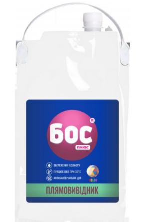Пятновыводитель-гель кислородный для цветных тканей БОС плюс COLOR 4,7л