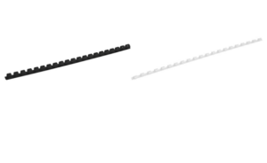 Пружина пластиковая, Axent, d=6 мм, до 20 листов, 100 шт