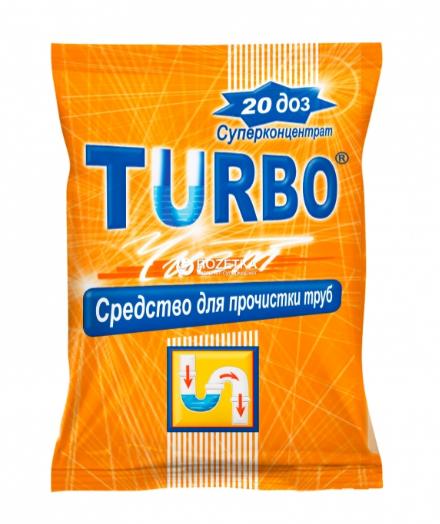 Гранулы для прочистки канализационных труб TURBOчист, 1000г