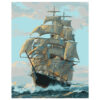 Картина для росписи по номерам «Корабль», 40х50см