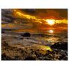 Картина для росписи по номерам «Закат солнца возле моря», 40х50см