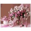 Картина для росписи по номерам «Розовый букет», 40х50см