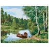 Картина для росписи по номерам «Летний пейзаж», 40х50см
