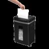 Уничтожитель документов Fellowes M-8с до 8 листов, черный 59660