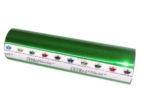 Фольга для ламинатора Crown Roll Leaf, 61м, зеленая