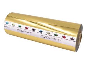 Фольга для ламинатора Crown Roll Leaf, 122м, золото глянец