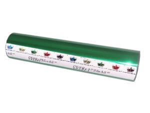 Фольга для ламинатора Crown Roll Leaf, 30,5м, изумрудная