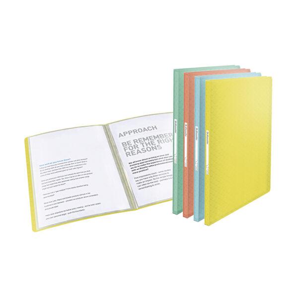 Папка пластиковая Esselte Colour'ice, PP, А4, 40 файлов