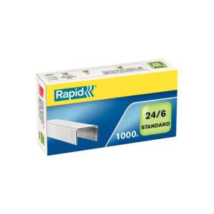 Скобы RAPID Standart 24/6мм 1М G 1000шт