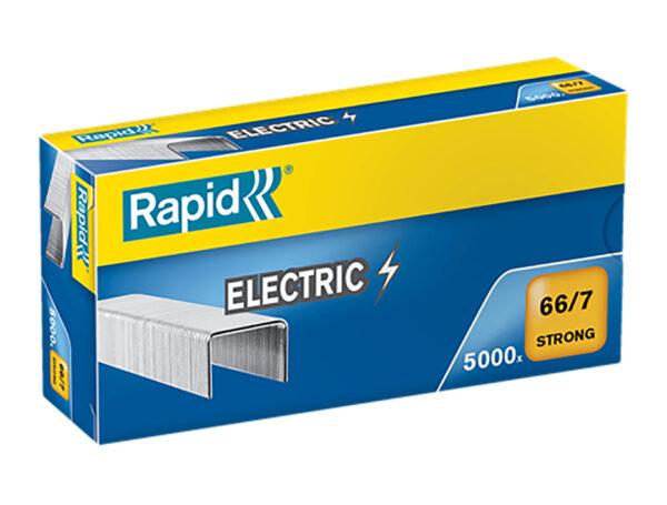 Скобы для электрических степлеров RAPID 66/7мм 5М G SuperStrong, 5000шт