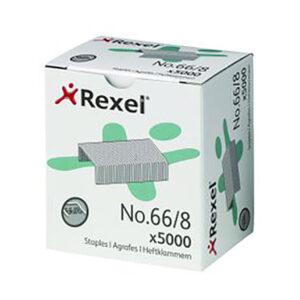 Скобы REXEL 66/8 Strong, 5000шт