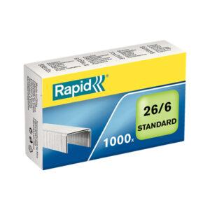 Скобы RAPID Standart 26/6мм 1М G 1000шт