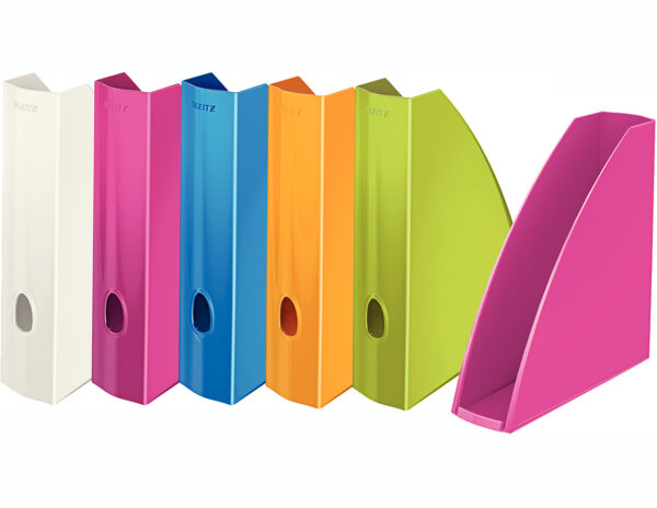 Лоток вертикальный Leitz WOW( 8цветов), пластиковый