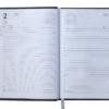 Ежедневник датированный 2022 PARALLEL, А5, синий 62140