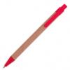 Ручка шариковая, автоматическая, бумажная Эко (6 цветов) 61985