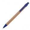 Ручка шариковая, автоматическая, бумажная Эко (6 цветов) 61988