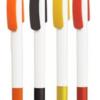 Ручка шариковая автоматическая пластиковая CLEO RUBBER (4 цвета)