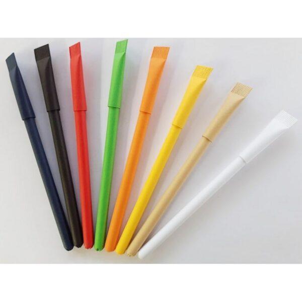 Ручка шариковая из картона Эко MO0 (8 цветов)