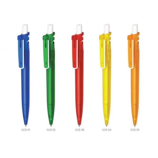 Ручка шариковая автоматическая пластиковая Grand Color Bis (5 цветов)