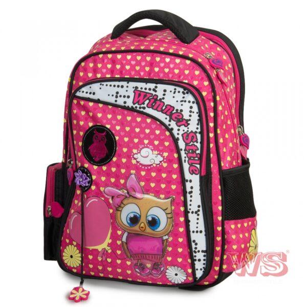 Рюкзак для школы Winner Style 194-2, розовый