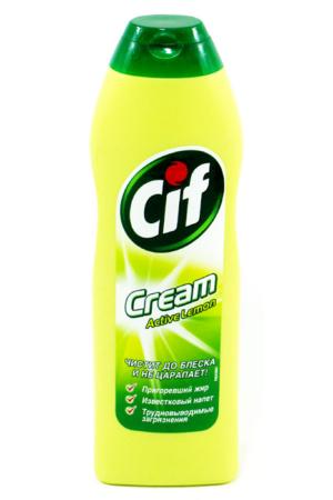 Крем для чистки CIF, 250мл Актив Лимон