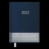 Ежедневник датированный 2022 PARALLEL, А5, синий