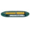 Ручка шариковая автоматическая металлическая Surfer, желтая, в футляре 61085