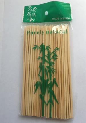 Палочки бамбуковые для шашлыка 15см, 100шт