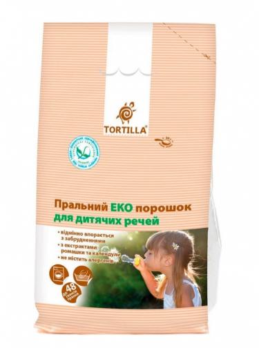 Стиральный порошок ЭКО TORTILLA для детских вещей 2,4кг