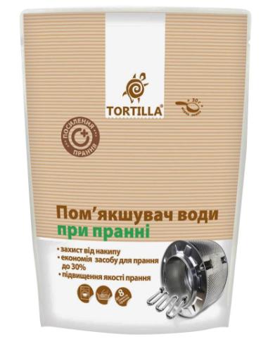 Смягчитель воды для машинной стирки TORTILLA, 400г