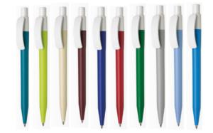 Ручка шариковая автоматическая пластиковая Pixel MATTCB (10 цветов)