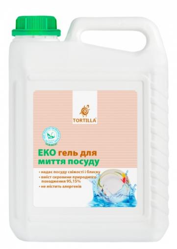 Гель для мытья посуды TORTILLA Эко 5л