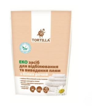 Отбеливатель для белых вещей TORTILLA Эко 200г