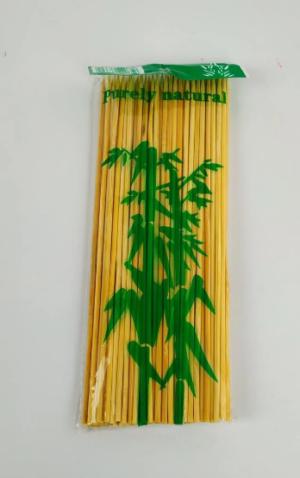 Палочки бамбуковые для шашлыка 25см, 100шт