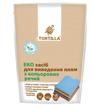 Пятновыводитель для цветных вещей TORTILLA Эко 200г