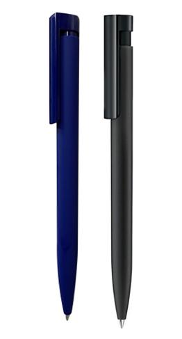 Ручка шариковая автоматическая пластиковая Liberty Mix & Match ST, soft touch (2 цвета)