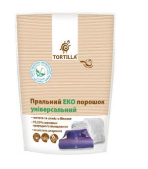 Стиральный ЭКО порошок TORTILLA универсальный 400г