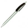 Ручка шариковая автоматическая пластиковая CLEO silver (2 цвета) 62475