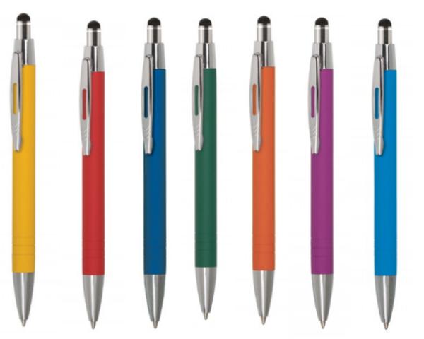Ручка шариковая автоматическая металлическая LISS TOUCH PRESTIGE (7 цветов)