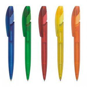 Ручка шариковая автоматическая пластиковая York Color (5 цветов)