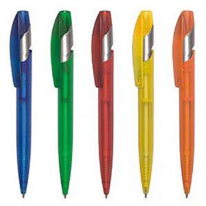 Ручка шариковая автоматическая пластиковая York Color Bis (5 цветов)