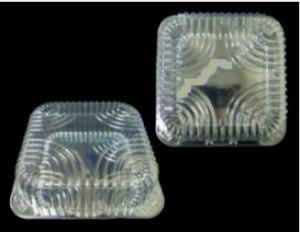 Пищевой контейнер ПР-К-22 (ПЕТ) с крышкой 2800мл 21,5х21,5х10,5см, 1шт