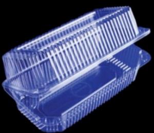 Пищевой контейнер ПР-К-25 с крышкой 26,5х19,3х1,5+6см, 1шт