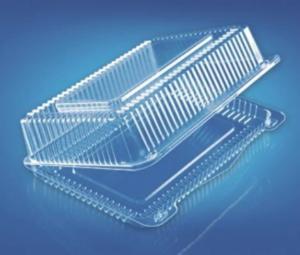 Пищевой контейнер ПР-К-25 В ( ПЕТ) с крышкой 26,5х19,3х8,6см, 1шт