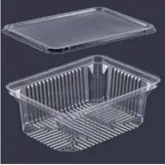 Пищевой контейнер ПС-140ДП+крышка(ПС14) 16,2х12х6,5см, 1000мл, 600шт