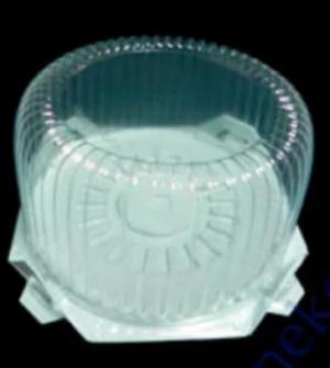 Пищевой контейнер для торта SL-206 BW с крышкой (206 Т), d=16смх9,8см, 1шт