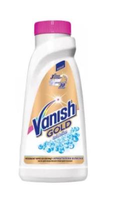Пятновыводитель жидкий для белых тканей VANISH Gold White 450мл
