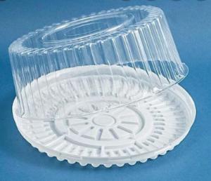Пищевой контейнер для торта SL-210 + крышка SL-213 , 210Т, d=25смх9,5см, 1шт