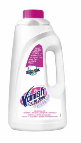 Пятновыводитель жидкий для белых тканей VANISH White 2л